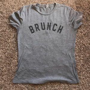 """Tops - """"Brunch"""" t-shirt"""